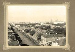 Ryazan. View of the Astrakhanskaya street, 1917