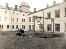 Ryazan. Inner courtyard of the gymnasium, 1913