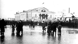 Salavat. Demonstration, 1954