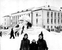 Salavat. Ice slides, 1959