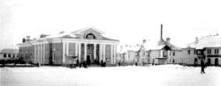 Salavat. Komsomolskaya Square in 1954