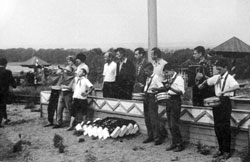 Salavat. In the pioneer camp, 1964