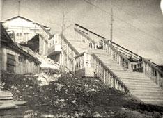 Salekhard. Stairs
