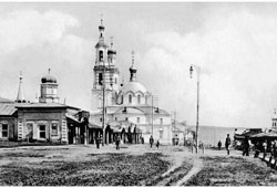 Saransk. Panorama of the city