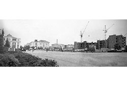 Saransk. Soviet square circa 1980's