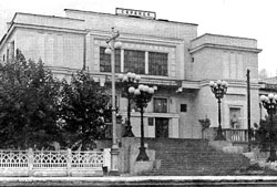 Saransk. The second railway station