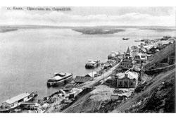 Sarapul. Wharf