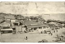 Saratov. The passenger jetty