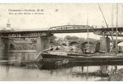 Smolensk. Panorama of two bridges