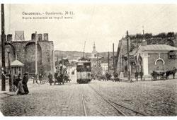 Smolensk. Gate to the old bridge