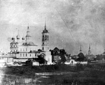 Solvychegodsk. Boris and Gleb Church, 1920s