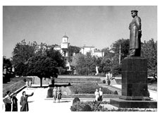Stavropol. Monument to I.V. Stalin