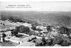 Stavropol. Panorama of the city