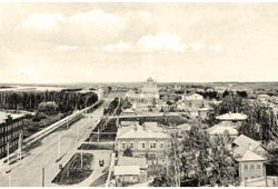 Tomsk. Panorama of the city