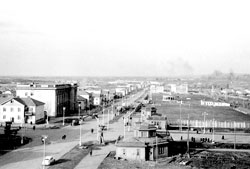 Tuymazy. Panorama of the city