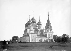 Tutayev. Cathedral of the Exaltation