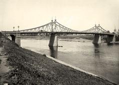 Tver. Bridge over the Volga River, 1903
