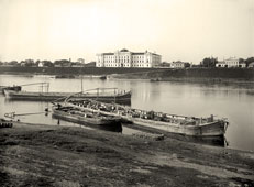 Tver. Panorama of the embankment, 1903