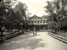 Tver. Restaurant in the Public Garden, 1903