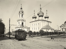 Tver. The Savior's Transfiguration Cathedral, 1903
