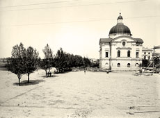 Tver. The Western Pavilion of the Palace, 1903