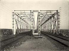 Tver. The railway bridge, 1903