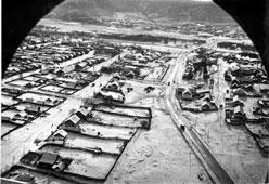 Tynda. Panorama of the settlement
