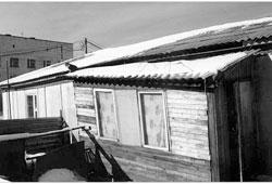 Tynda. Prefabricated panel houses