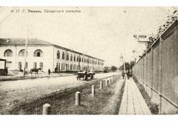 Tyumen. The Beginning of Tsarskaya Street, 1915