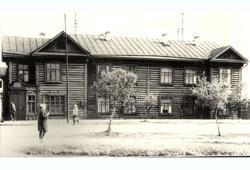 Tyumen. The dormitory, 1965
