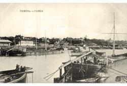 Tyumen. Piers, 1902