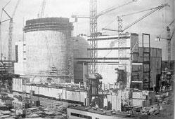 Udomlya. Construction of Kalinin NPP