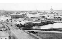 Uglich. Central Street, 1900