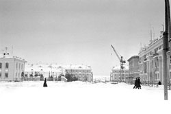 Ухта. Panorama of the city