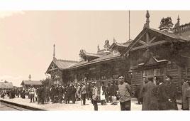 Ulan-Ude. Railway station, 1909