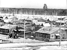 Uray. Town barracks