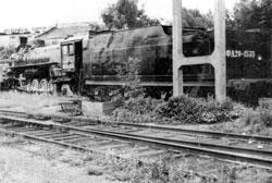 Uzlovaya. Steam locomotive FD20-1535