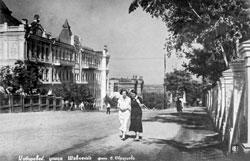 Khabarovsk. Shevchenko street