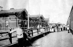 Khabarovsk. View the first station of Khabarovsk, 1903