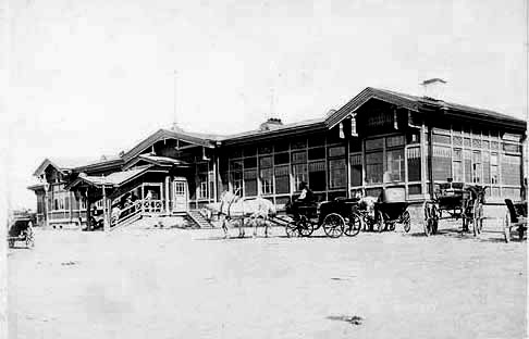 Khabarovsk. View of Station Square, 1903