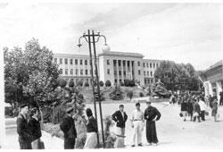 Tskhinvali. House councils
