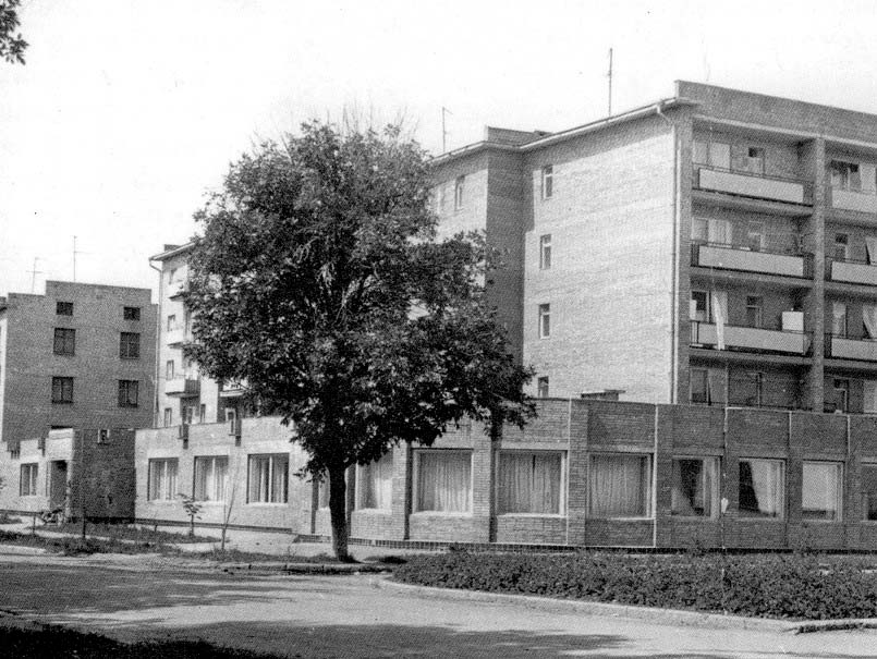 Chapayevsk. New houses