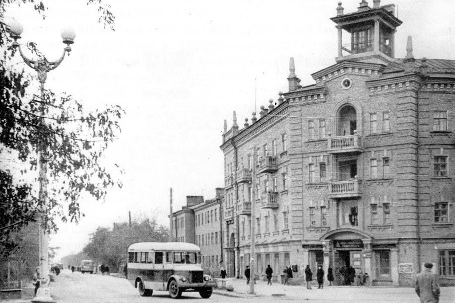 Chapayevsk. Crossroad