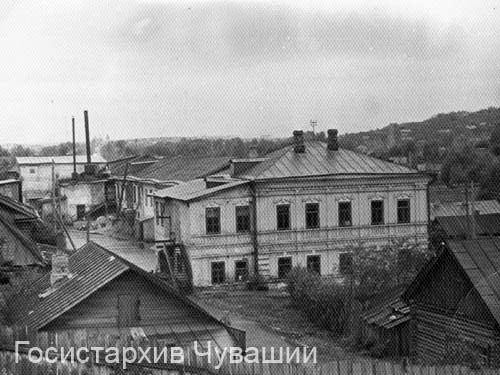 Cheboksary. Tannery plant of Tavrin