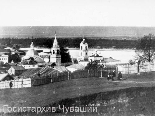 Cheboksary. Saint Trinity monastery