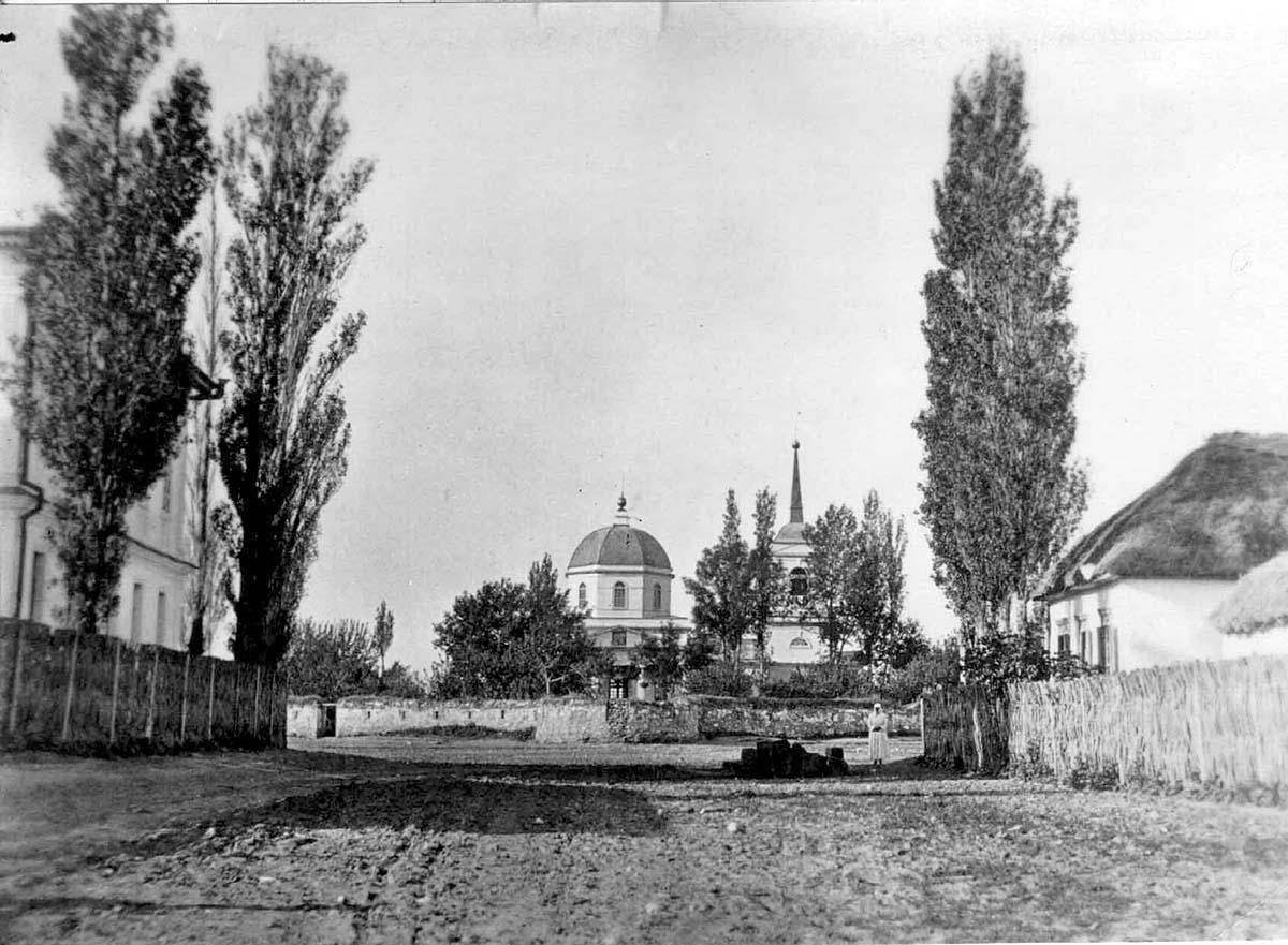 Cherkessk. Panorama of Cathedral