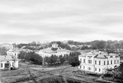 Shatsk. Panorama of the city