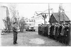 Shchyokino. Weekdays of militia, 1960s