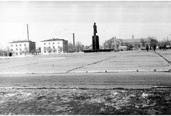 Elista. Lenin Square, 1972