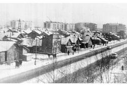 Yuzhno-Sakhalinsk. Komsomolskaya Avenue